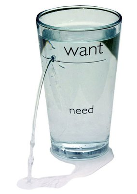 Want Need glass Дырявый стакан