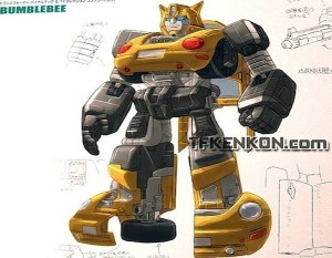 bumblebee vw sculpture design 300x233 Статуя Бамблби