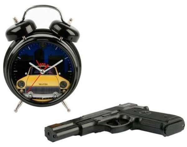 shoot the clock alarm clock Стреляй в будильник!