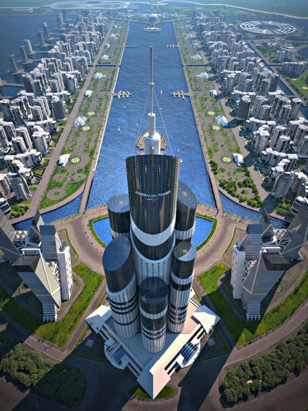 tall41 600x800 Азербайджанский город мечты